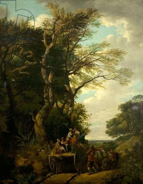 The Harvest Waggon, 1774 (oil on canvas)