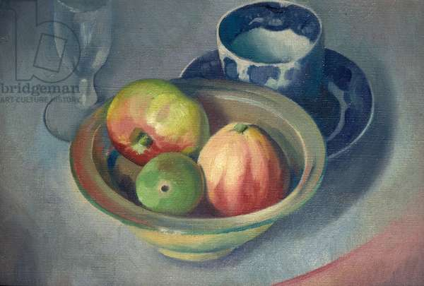 Still Life with Apples, 1927 (oil on canvas)