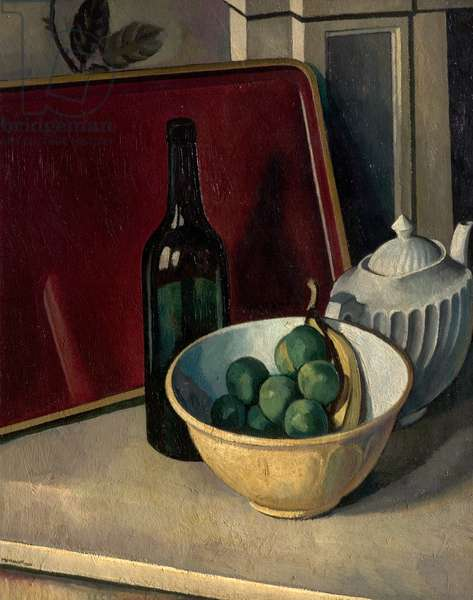 Still Life with Yellow Bowl and Fruit, 1920 (oil on canvas)