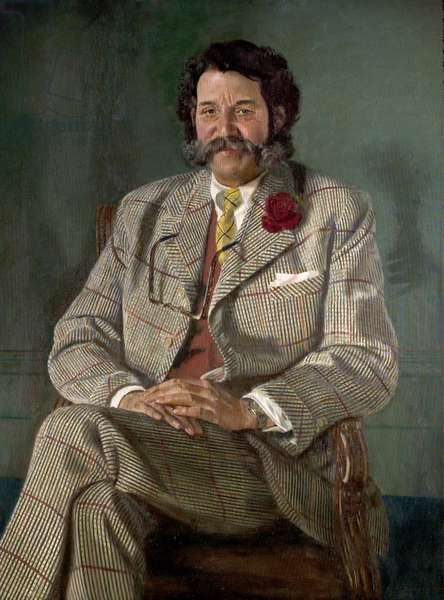 Harry Wheatcroft, Rose Grower, 1957 (oil on canvas)