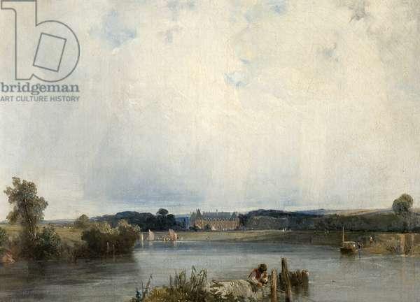 Le Chateau de la Duchesse de Berry, 1823-25 (oil on canvas)