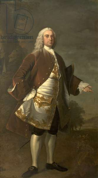 Sir Wolstan Dixie, 1741 (oil on canvas)