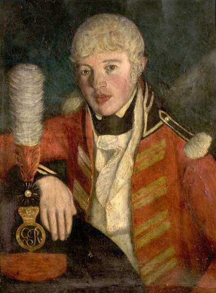Portrait of an Officer, c.1806 (oil on canvas)