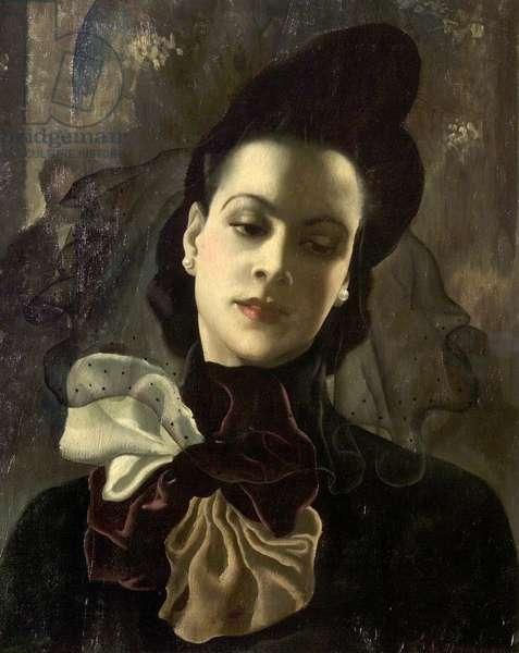 The Dark Lady, 1938 (oil on canvas)