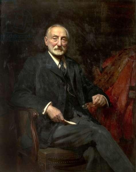 Alderman F.R. Radford, 1925 (oil on canvas)