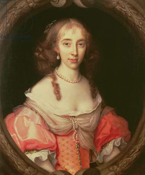 Portrait of Magdalen Aston (oil on canvas)