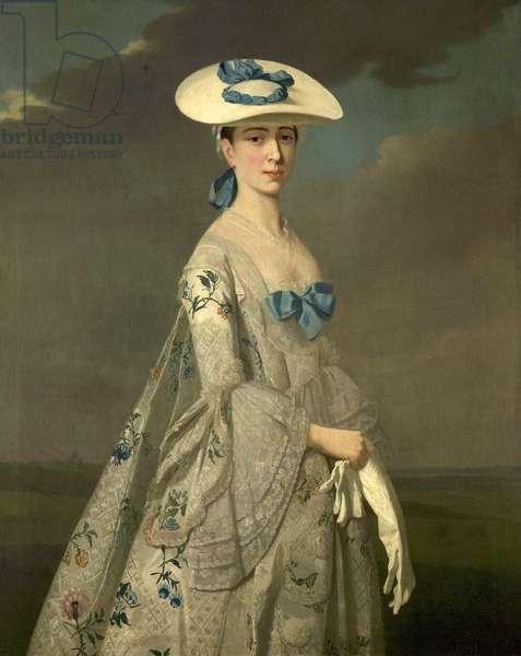 Miss Dixie, c.1750-55 (oil on canvas)