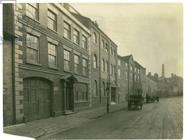 Mill Street, Kidderminster Carpet Trades works, 1923 (b/w photo)