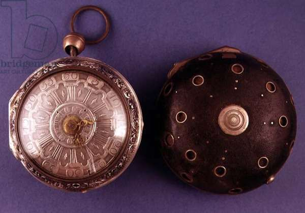 Coach watch, with alarm and repeater, by Cabrier of London, c.1775