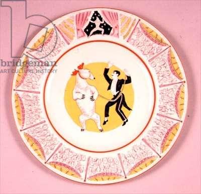 Wilkinson plate, 1937 (porcelain)