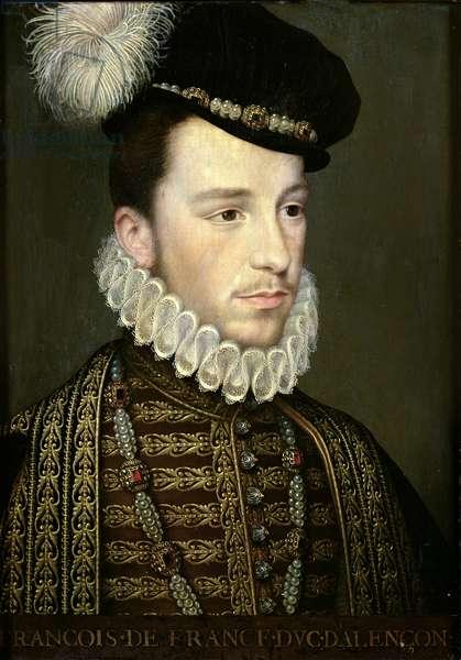 Hercule Francois de France (1554-84) Duke of Alencon or Henri III (1551-89) before his Accession (oil on panel)