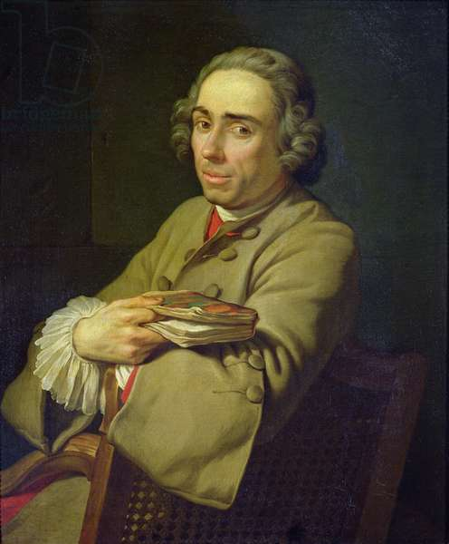 Portrait of a Man, before 1740 (oil on canvas)