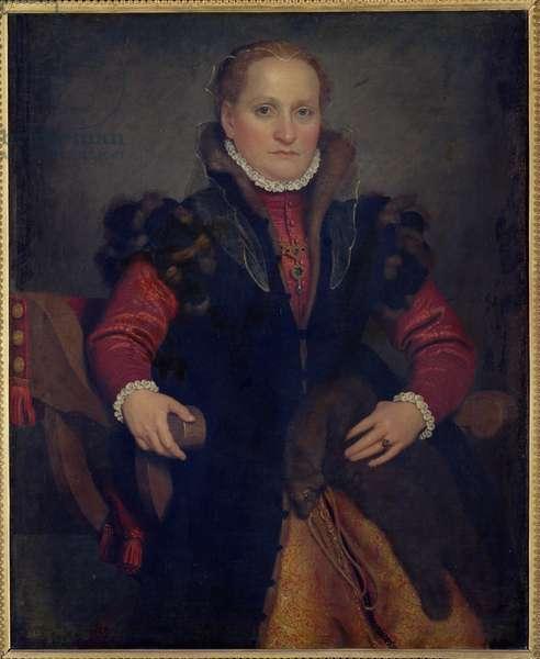 Portrait of Angelica Agliardi de Nicolinis (d.1569) c.1565 (oil on canvas)