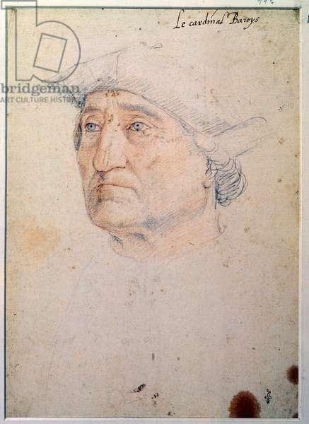Portrait of Galiot (Jacques Ricard de Genouillac d'Assier) (pencil on paper)