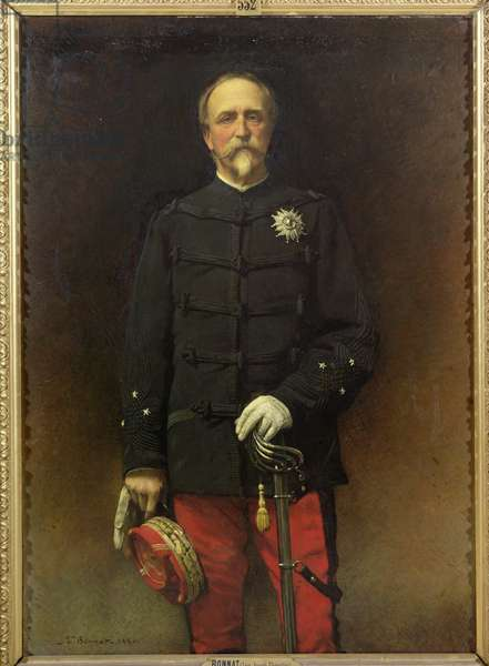 Henri d'Orleans (1822-97) Duke of Aumale with the Medal of the Legion of Honour, 1880 (oil on canvas)
