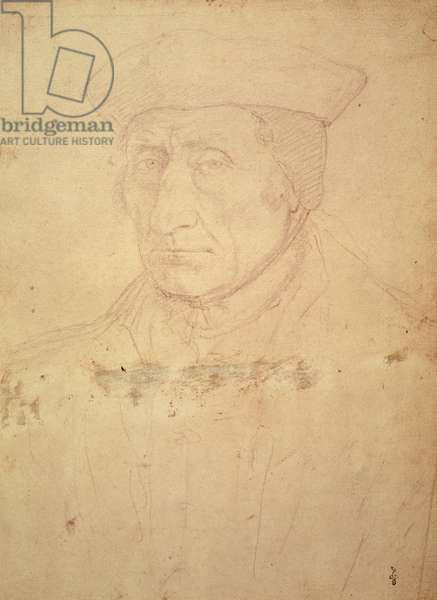 Guillaume Bude, c.1520 (pencil on paper)