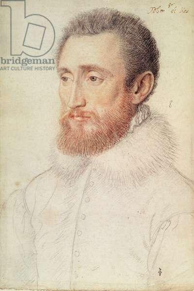 Jacque de Brouillard, seigneur de Lisy et de Montjay (c.1519-c.60), c.1555 (pencil on paper)