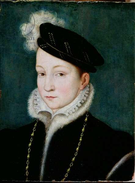 Francois II (1544-60) c.1553 (oil on panel)