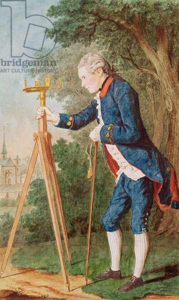 Monsieur de Marcenay, 1773 (pencil, w/c & gouache on paper)