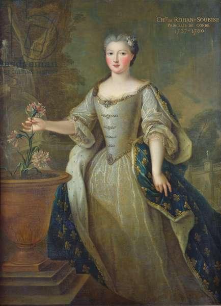 Portrait of Caroline de Hesse-Rheinfels (oil on canvas)
