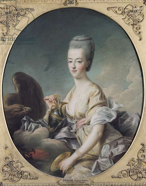 The Dauphiness Marie-Antoinette (1755-93) as Hebe, 1773 (oil on canvas)