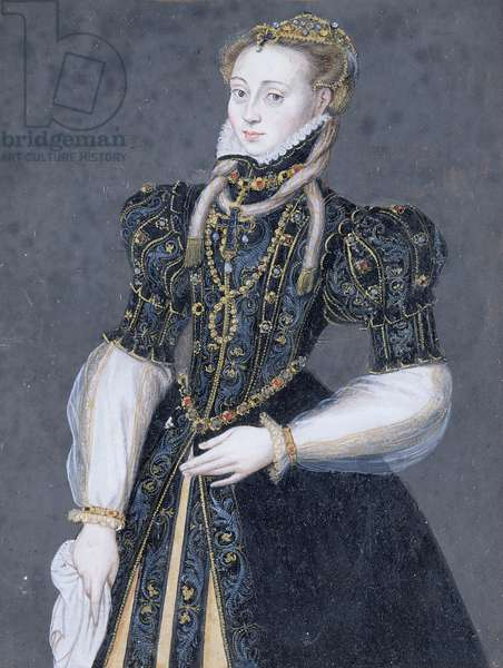 Walburg de Neuenahr, Countess of Mors (oil on canvas)