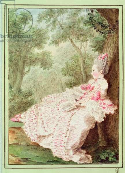 La Marquise de la Croix, c.1768 (w/c on paper)