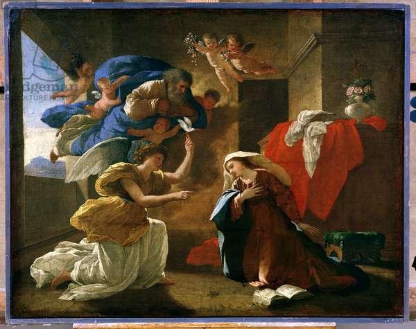 The Annunciation, c.1627 (oil on canvas)