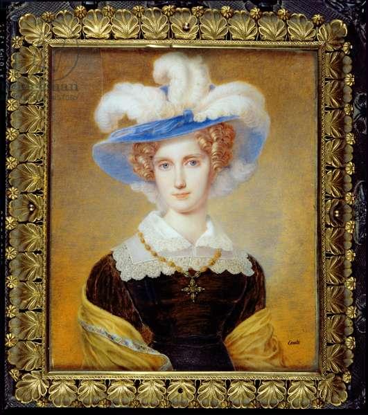 Marie-Clementine de Habsbourg-Lorraine (1777-1801) Archduchess of Austria (oil on canvas)