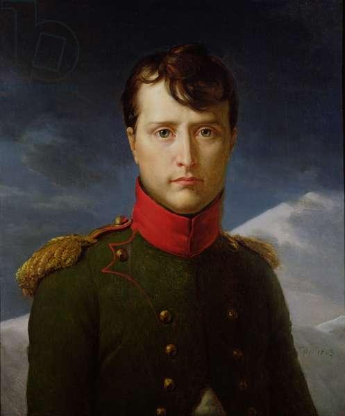 Portrait of Napoleon Bonaparte (1769-1821) 1st Consul, 1803 (oil on canvas)