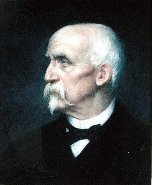 Henri of Orleans (1822-97) Duke of Aumale, 1893 (pastel on paper)