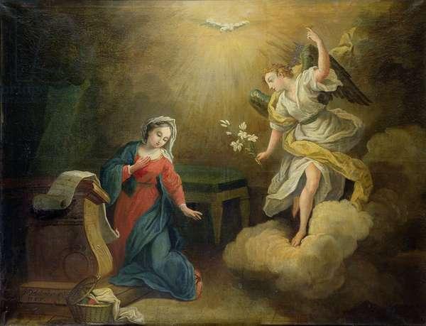 Annunciation, 1755 (oil on canvas)