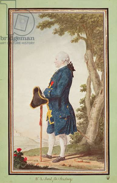 Monsieur de Boistel (pencil, w/c & gouache on paper)