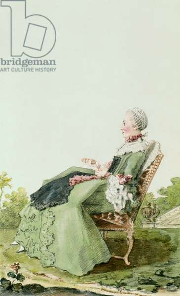 Madame de Marly, 1759 (w/c on paper)