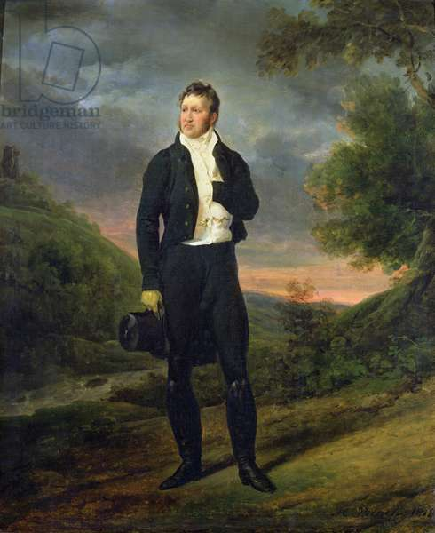 Louis-Philippe (1773-1850) Duke of Orleans, 1818 (oil on canvas)
