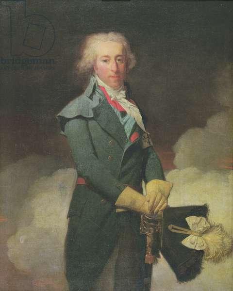 Louis-Henri-Joseph de Bourbon (1756-1830) 9th Prince of Bourbon, 1797 (oil on canvas)