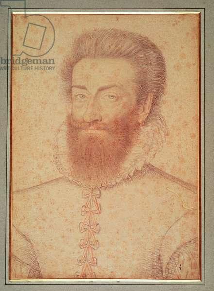 Philippe-Emmanuel de Lorraine Vaudemont (1558-1602) c.1590 (pencil on paper)