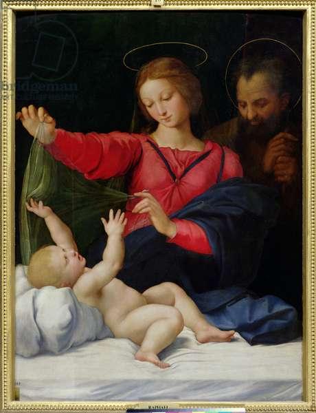 The Madonna of Loreto, c.1509 (oil on canvas)