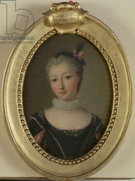 Caroline de Hesse Rheinfeld (1714-41) (oil on canvas)