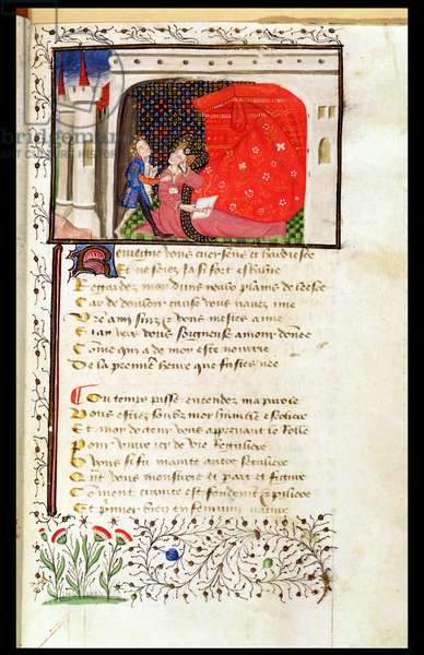 Ms 498/1569 The Dream of George de Chasteaulens (vellum)