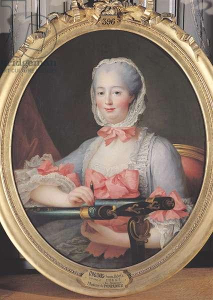 Madame de Pompadour (1721-64) c.1763 (oil on canvas)