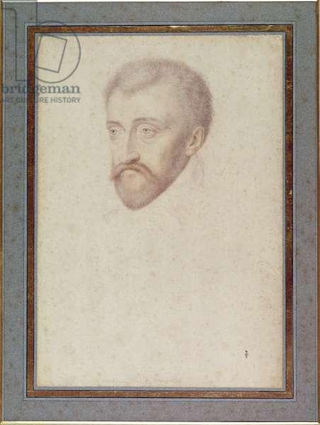 Antoine de Bourbon (1518-62) c.1560 (pencil on paper)