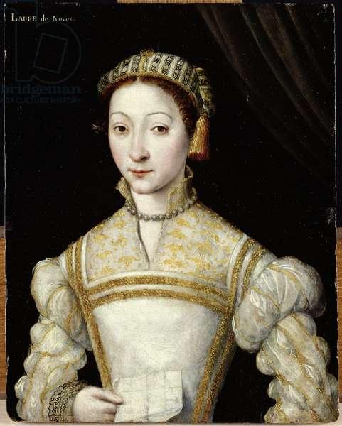 Portrait of a Woman presumed to be Laure de Noves (oil on panel)