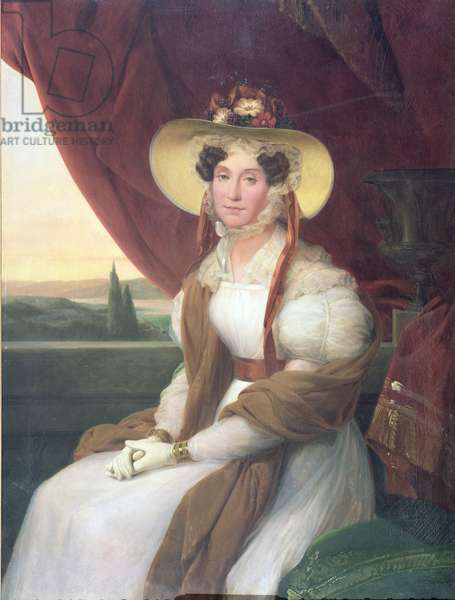 Madame Adelaide d'Orleans (1777-1847) (oil on canvas)