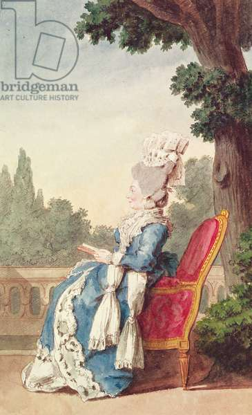 The Princess of Hesse-Darmstadt (d.1818) 1780 (pencil, w/c & gouache on paper)