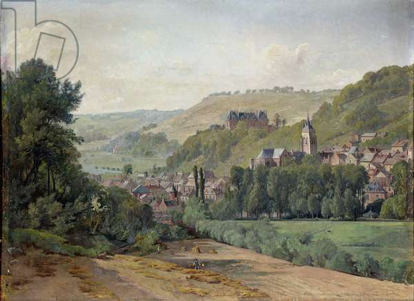 The Chateau d'Aumale, 1880-82 (oil on canvas)