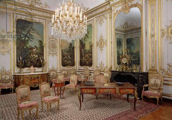 The Bedroom of M. le Prince, Petit Chateau, c.1720-40 (photo)