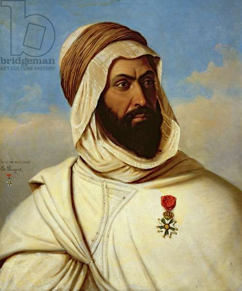 Portrait of Ahmed Ben-Ferruch, 1847 (oil on canvas)