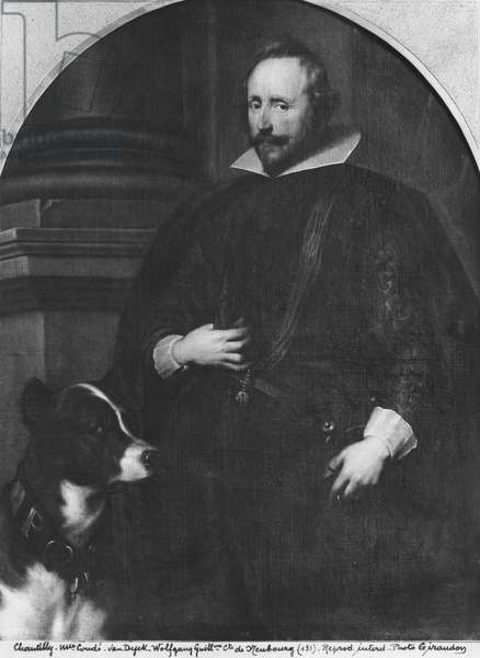 Guillaume Wolfgang, Count Palatine of Neubourg, 1625-32 (oil on canvas) (b/w photo)
