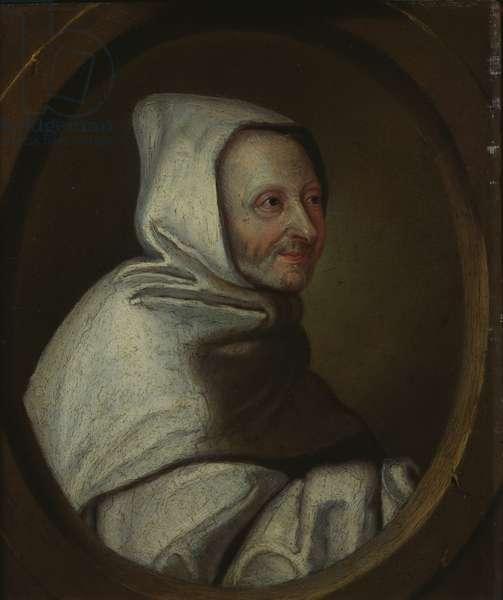 Abbot Armand-Jean le Bouthillier de Rance (1626-1700) (oil on metal)